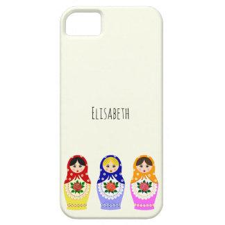 Russian matryoshka dolls iPhone 5 covers