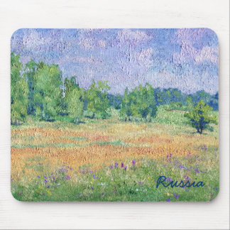 Russian Meadow Mouse Pad