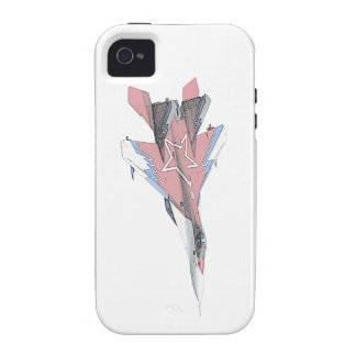 Russian MiG jet fighter aircraft iPhone 4/4S Covers