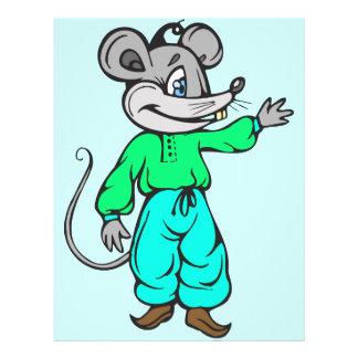 Russian Mouse 21.5 Cm X 28 Cm Flyer