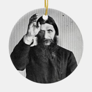 Russian Mystic Grigori Yefimovich Rasputin Christmas Ornament
