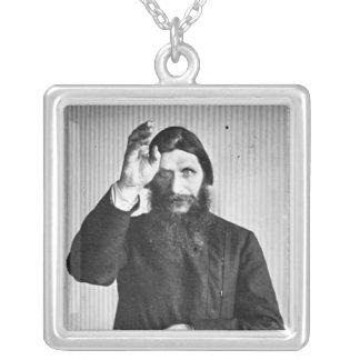 Russian Mystic Grigori Yefimovich Rasputin Silver Plated Necklace