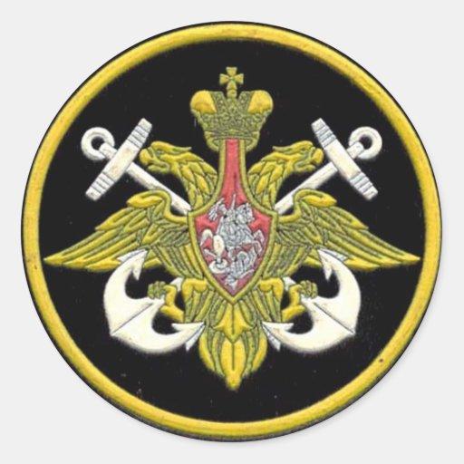 Russian Navy patch Sticker