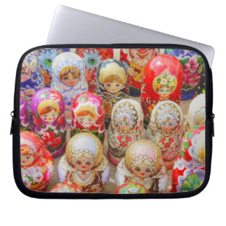 Russian Nested Dolls Laptop Sleeve