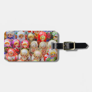 Russian Nested Dolls Luggage Tag