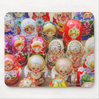 Russian Nested Dolls Mouse Mat