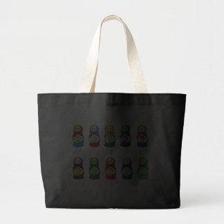 Russian Nesting Doll (Matryoshka) Jumbo Tote Bag
