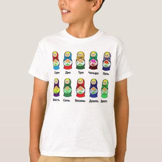 Russian Nesting Doll (Matryoshka) T Shirts