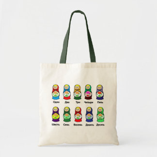 Russian Nesting Doll (Matryoshka) Tote Bag