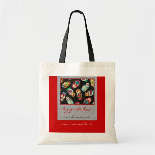 Russian Nesting Dolls Tote Bag