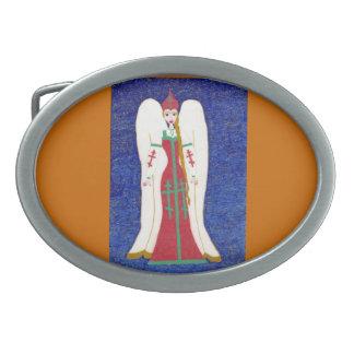 Russian Orthodox Angel Belt Buckle
