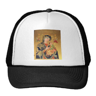 Russian Orthodox Icon - Virgin Mary and baby Jesus Cap