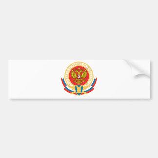 Russian president's security emblem bumper sticker