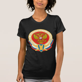 Russian president's security emblem tshirts