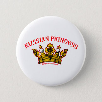 Russian Princess 6 Cm Round Badge