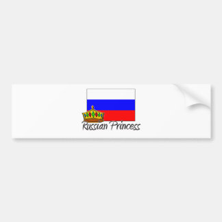 Russian Princess Bumper Sticker