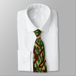 Russian Reed Forest Camo Tie