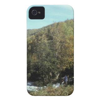 RUSSIAN RIVER BELOW FALLS iPhone 4 CASES