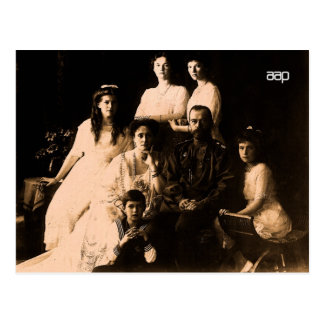 Russian Royal Family 1914 Postcard