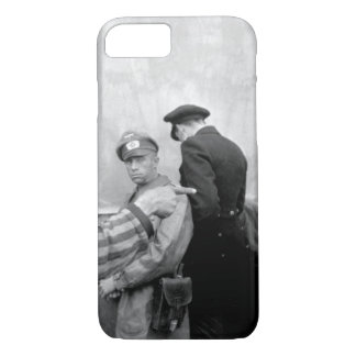 Russian slave laborer among_War image iPhone 7 Case