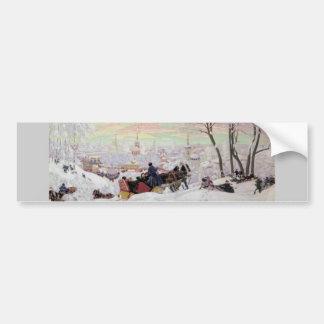 Russian Sleigh Ride Bumper Sticker