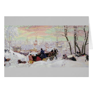 Russian Sleigh Ride Card