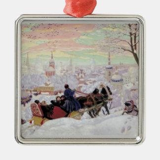 Russian Sleigh Ride Christmas Ornament