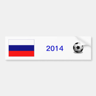 Russian Soccer Bumper Sticker