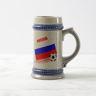 Russian Soccer Team Beer Steins