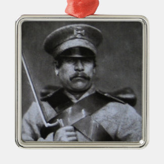 Russian soldier christmas ornament