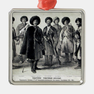 Russian Soldiers Christmas Ornament