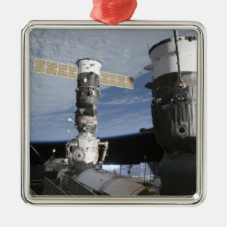 Russian Soyuz and Progress spacecrafts Christmas Ornament