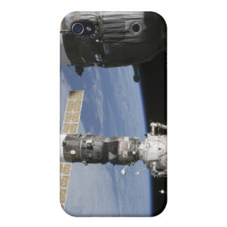 Russian Soyuz and Progress spacecrafts iPhone 4 Cases