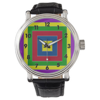 Russian Square Wrist Watch