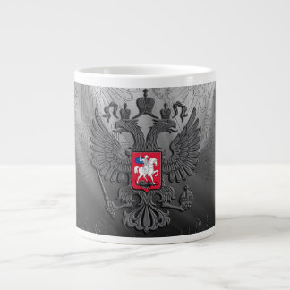 Russian symbol flag large coffee mug