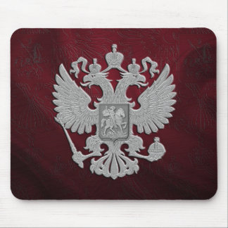 Russian symbol flag red mouse pad
