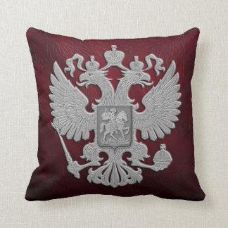 Russian symbol red flag cushion