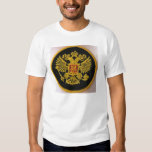 russian symbol.two headed eagle t-shirts