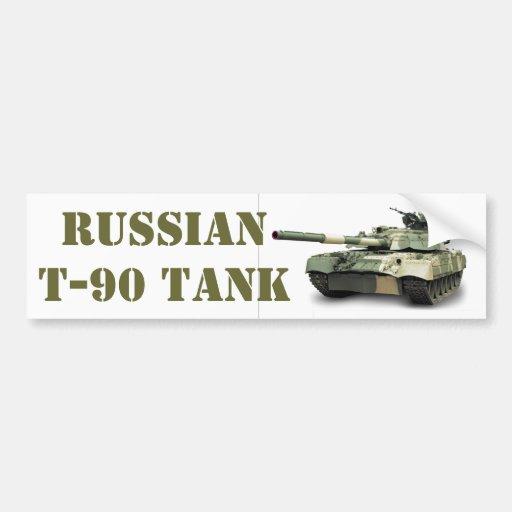 RUSSIAN T-90 BUMPER STICKERS