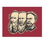 Russian Troika: Tolstoy, Dostoevsky, Chekhov Post Cards
