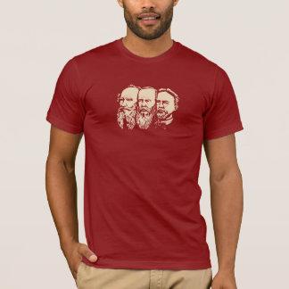 Russian Troika: Tolstoy, Dostoevsky, Chekhov T-Shirt