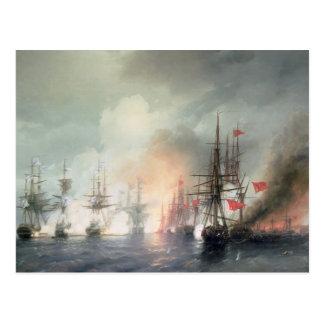 Russian-Turkish Sea Battle of Sinop Postcard