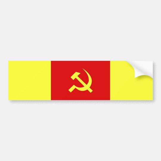 Russian USSR Hammer & Sickle Bumpersticker Bumper Sticker