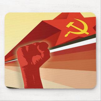 Russian Vintage Communist Propaganda Mouse Pad