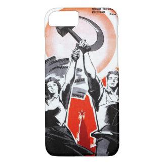 Russian Vintage Propaganda iPhone 8/7 Case