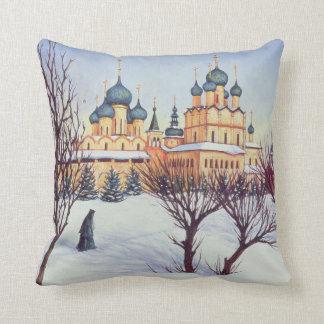 Russian Winter 2004 Cushion
