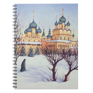 Russian Winter 2004 Spiral Note Books