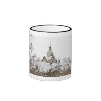 Russian winter ringer coffee mug
