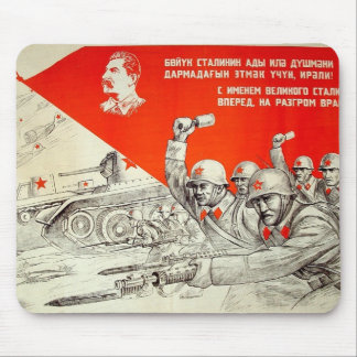 Russian WWII Propaganda Mousepad