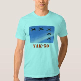 RUSSIAN YAK-50 T SHIRTS